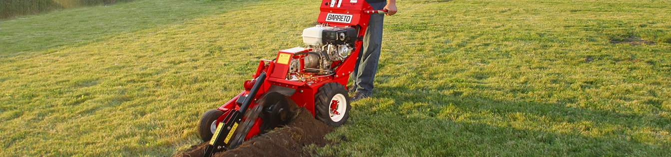 BARRETO MINI HEAVY DUTY TRENCHER