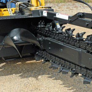 Lowe Trenchers For Skidsteers Terra Cut Supply